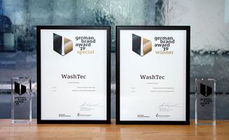 WashTec erhält den German Brand Award in zwei Kategorien!